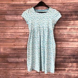 Land's End | Daisy Print T-Shirt Dress Med 10 12